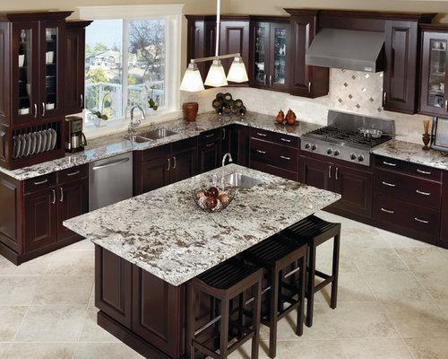 espresso kitchen cabinets houzz new caledonia granite for kitchen and bathroom