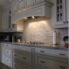 Traditional Kitchen by Kitchen Craft Cabinetry Vancouver and Victoria
