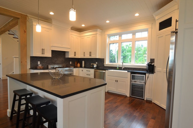 Traditional Kitchen by Craftsman Construction