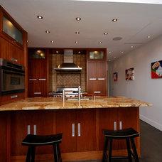 Eclectic Kitchen by Craig Martin Design