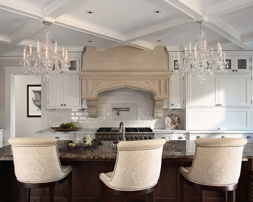 Chandelier In Kitchen Houzz
