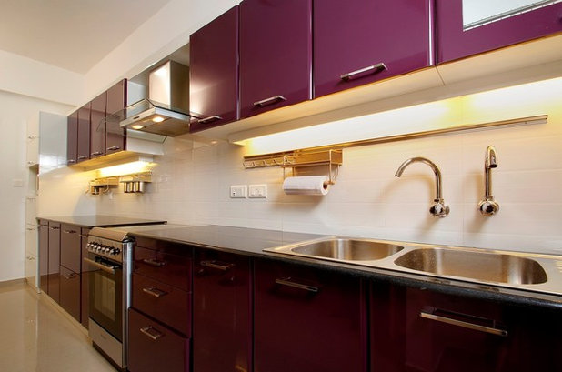 Contemporary Kitchen by Chi-Square Interiors