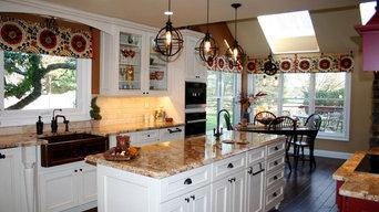 Kitchen Custom Cabinet Installation