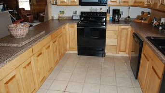 Kitchen Custom Cabinetry Log Cabin