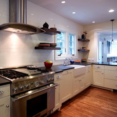 Traditional Kitchen by D.W. Dively Construction Services