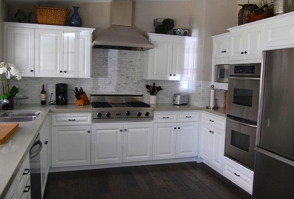 Transitional Kitchen by Dana Nichols