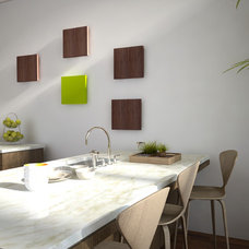Contemporary Kitchen by WoodnGo