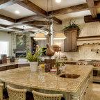 Hacienda Style Kitchen Mediterranean Kitchen Houston