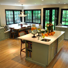 traditional kitchen by Deepdale House LLC