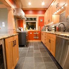 Craftsman Kitchen by RedPoint Construction LLC