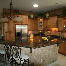 Contemporary Kitchen by depotgranite