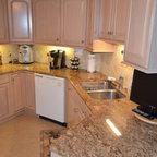 Mar Vista Contemporary Kitchen Orange County By Aria Design Inc