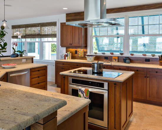 Kitchen Island Stove island cooktop | houzz