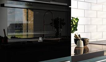 Kitchen Design - Computer Generated 3dvisualization.