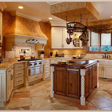 Traditional Kitchen by Trademark Construction, LLC