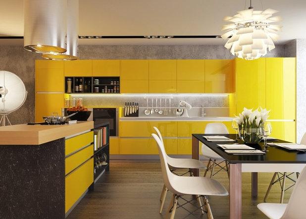 Contemporaneo Cucina by Quirc Interior Design