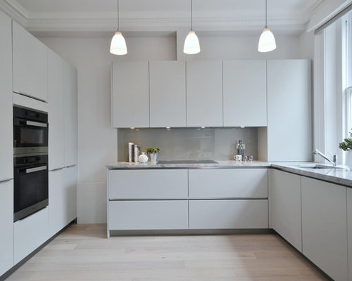White Kitchen Grey Splashback grey splashback | houzz