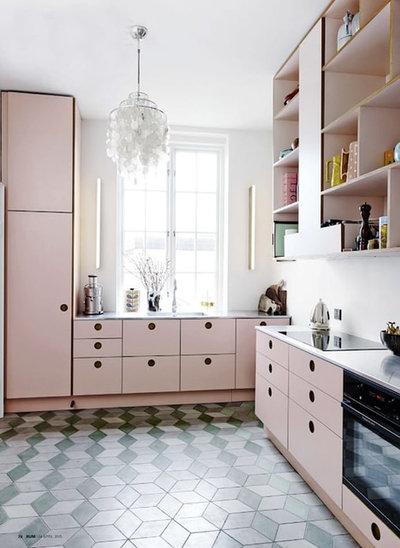 Pastell ist das neue Weiß! 9 moderne Küchen in Pudertönen