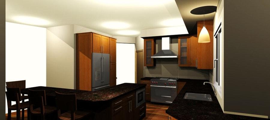 Kitchen Design with Modern Flair