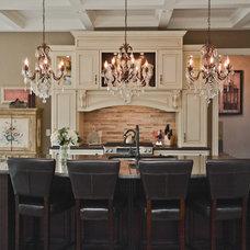 Traditional Kitchen by Designing Durham