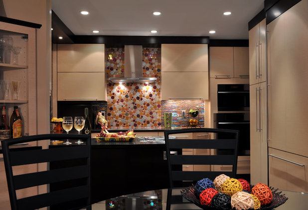 Dark And Regal Kitchen Designs