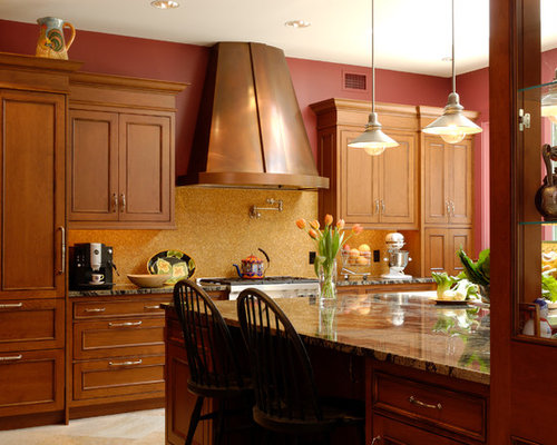 Gold And Red Paint Home Design Ideas Pictures Remodel