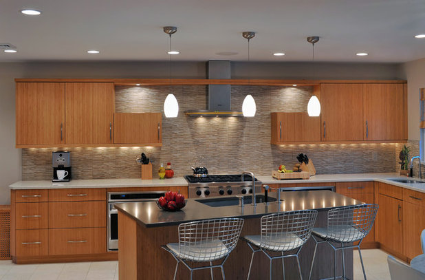 Contemporary Kitchen By Kitchen Designs By Ken Kelly Inc Ckd Cbd