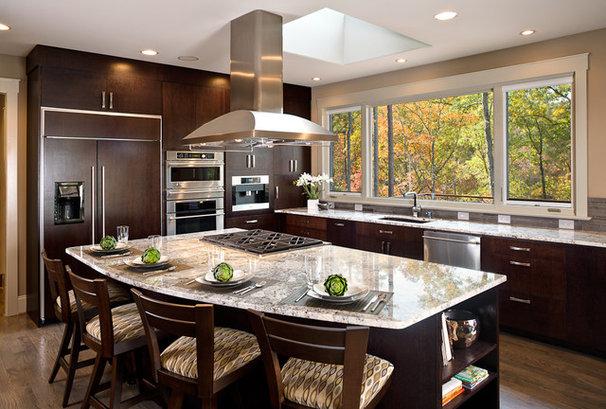 Contemporary Kitchen by ID Studio Interiors