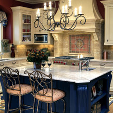 Mediterranean Kitchen by DESIGNS! - Susan Hoffman Interior Designs
