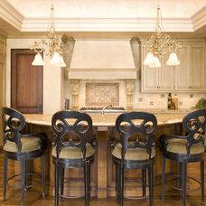 Mediterranean Kitchen by DESIGNS! - Susan Hoffman Interior Designs