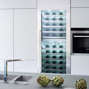 Kitchen Detail - Inc Wine Fridge & Double Sink - Buckinghamshire Residence