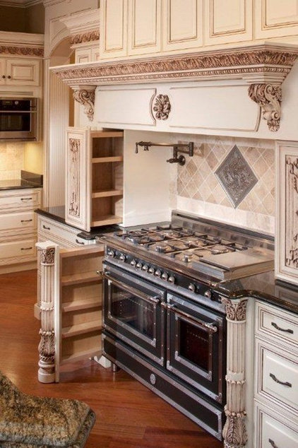 Traditional Kitchen by Details Designs and Cabinets