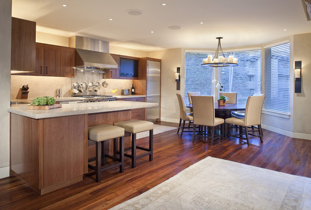 Contemporary Kitchen by Forum Phi Architecture   Interiors   Planning