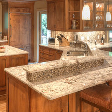 Traditional Kitchen by Distinctive Cabinetry of the High Country