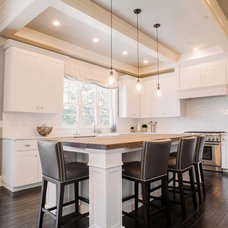 Transitional Kitchen by Savvy Interior Design