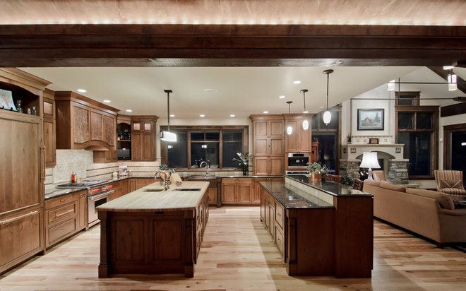 Traditional Kitchen by Aneka Interiors Inc.