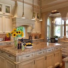 Traditional Kitchen by Douglas Design Studio