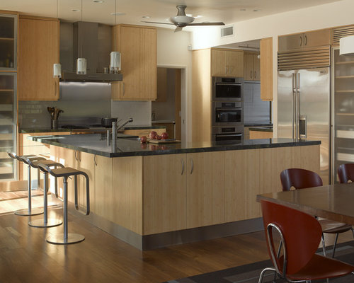 Bamboo Kitchen Cabinets Home Design Ideas, Pictures, Remodel and Decor