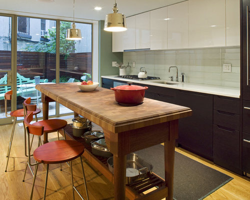 Straight kitchen home design ideas pictures remodel and for Straight line kitchen designs