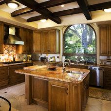 Mediterranean Kitchen by Dylan Chappell Architects