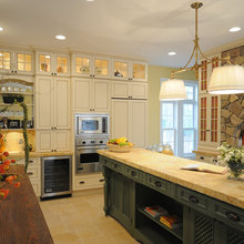 Kitchen Cabinets Lighted