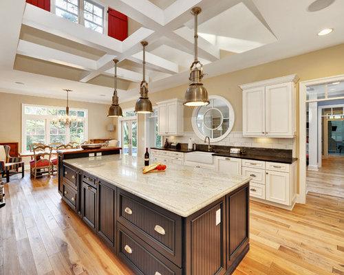 White Granite Kitchen Countertops white granite kitchen countertops | houzz