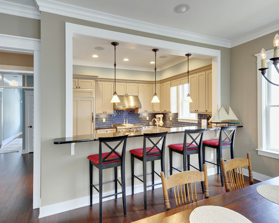 kitchen open to dining room | houzz
