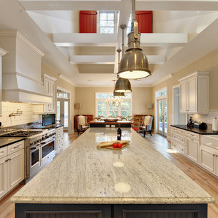 White Kitchen Cabinets Granite Countertops Ideas & Photos ...