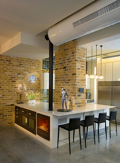 Industrial Kitchen by Elad Gonen