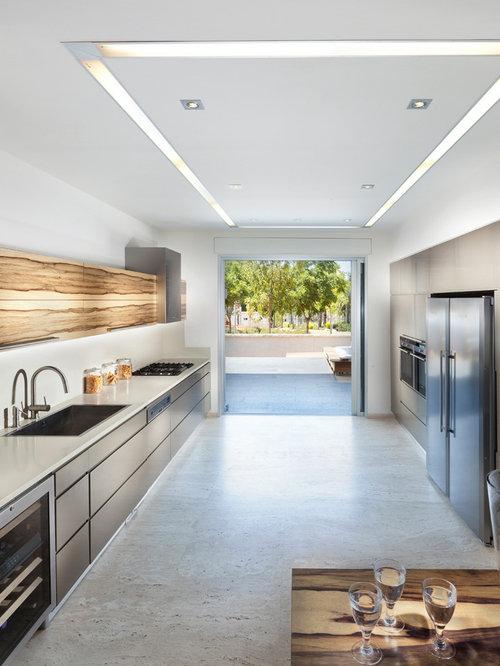 Windowless Kitchen Home Design Ideas Renovations Photos