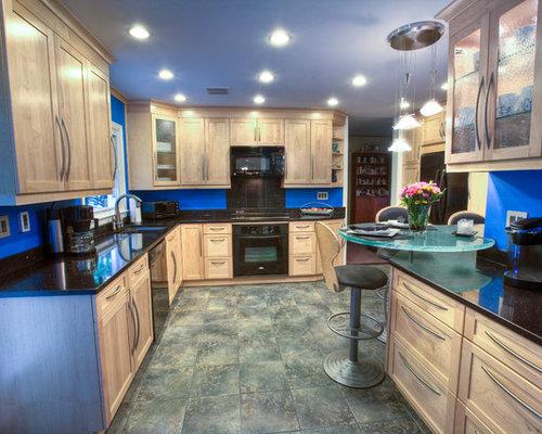 Houzz silestone 39 s stellar night quartz with mi kitchen for Stellar night quartz price