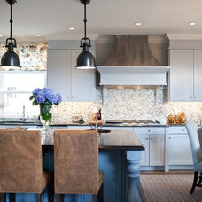 Transitional Kitchen by Elizabeth Reich