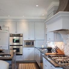 Transitional Kitchen by Elizabeth Reich