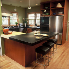Contemporary Kitchen by Emerick Architects